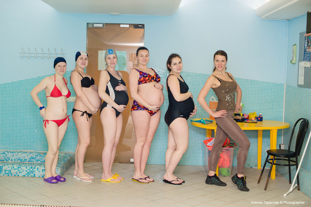 Аквааэробика для беременных в Выборгском районе